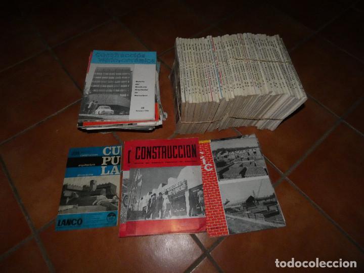 Libros antiguos: LOTE GRANDE 98 REVISTAS CONSTRUCCION: CIC, CUPULA, CONSTRUCCION VIDRIO Y CERAMICA BOLETIN ECONOMICO - Foto 2 - 142638266