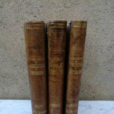 Libros antiguos: TRATADO COMPLETO DE ARQUITECTURA DOMINGO SUGRAÑES 3 VOLUMENES OBRA COMPLETA VER ESTADO. Lote 142926720