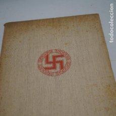 Libros antiguos: LA NUEVA ARQUITECTURA ALEMANA. ALBERT SPEER. 1941. Lote 143196230