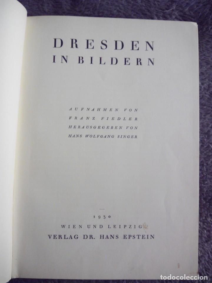 Libros antiguos: Dresden in Bildern 1930 Alemania arte arquitectura Deutschland Dresde - Foto 3 - 143389282