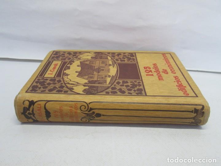 Libros antiguos: 125 MODELOS DE EDIFICIOS ECONOMICOS. I. CASALI. EDITOR GUSTAVO GILI. 1925. VER FOTOGRAFIAS ADJUNTAS - Foto 2 - 144855342