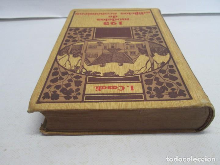 Libros antiguos: 125 MODELOS DE EDIFICIOS ECONOMICOS. I. CASALI. EDITOR GUSTAVO GILI. 1925. VER FOTOGRAFIAS ADJUNTAS - Foto 5 - 144855342