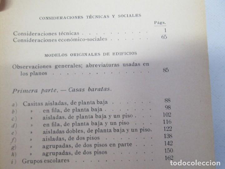 Libros antiguos: 125 MODELOS DE EDIFICIOS ECONOMICOS. I. CASALI. EDITOR GUSTAVO GILI. 1925. VER FOTOGRAFIAS ADJUNTAS - Foto 8 - 144855342