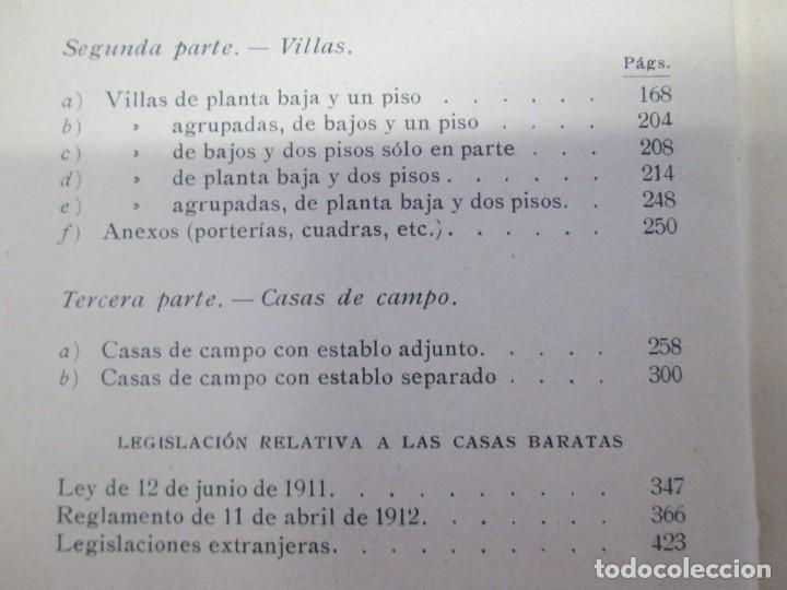 Libros antiguos: 125 MODELOS DE EDIFICIOS ECONOMICOS. I. CASALI. EDITOR GUSTAVO GILI. 1925. VER FOTOGRAFIAS ADJUNTAS - Foto 9 - 144855342