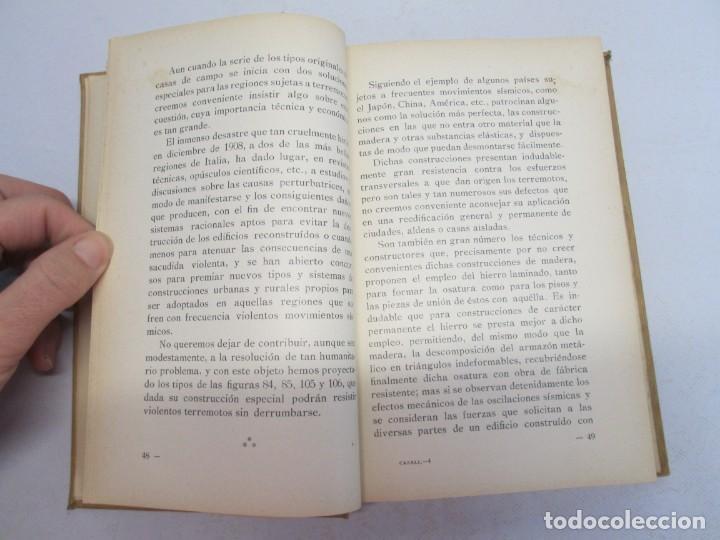 Libros antiguos: 125 MODELOS DE EDIFICIOS ECONOMICOS. I. CASALI. EDITOR GUSTAVO GILI. 1925. VER FOTOGRAFIAS ADJUNTAS - Foto 11 - 144855342