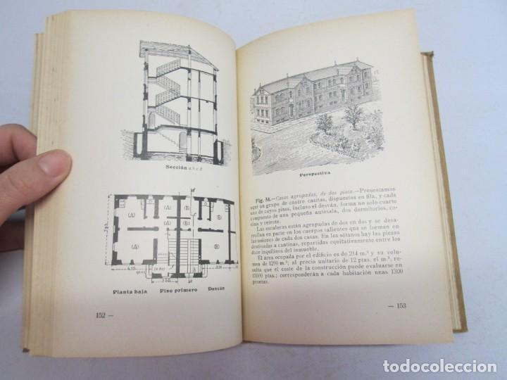 Libros antiguos: 125 MODELOS DE EDIFICIOS ECONOMICOS. I. CASALI. EDITOR GUSTAVO GILI. 1925. VER FOTOGRAFIAS ADJUNTAS - Foto 12 - 144855342