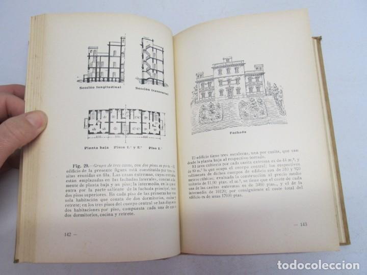 Libros antiguos: 125 MODELOS DE EDIFICIOS ECONOMICOS. I. CASALI. EDITOR GUSTAVO GILI. 1925. VER FOTOGRAFIAS ADJUNTAS - Foto 13 - 144855342