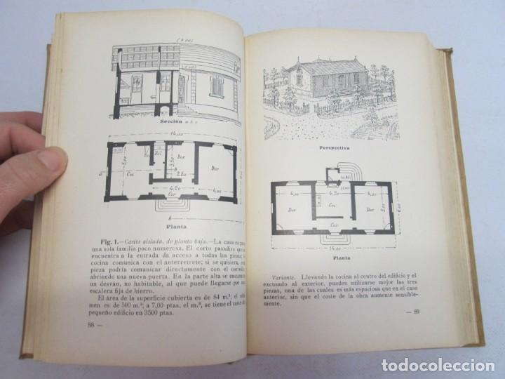 Libros antiguos: 125 MODELOS DE EDIFICIOS ECONOMICOS. I. CASALI. EDITOR GUSTAVO GILI. 1925. VER FOTOGRAFIAS ADJUNTAS - Foto 14 - 144855342