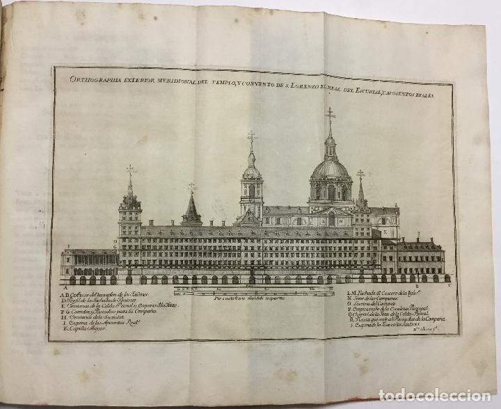 Libros antiguos: XIMÉNEZ, Andrés. DESCRIPCION DEL REAL MONASTERIO DE SAN LORENZO DEL ESCORIAL. 1764 - Foto 3 - 145613674