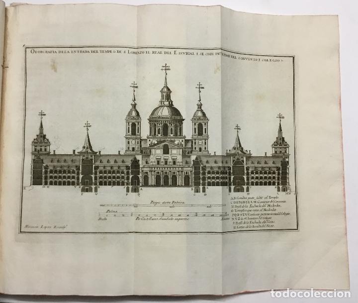 Libros antiguos: XIMÉNEZ, Andrés. DESCRIPCION DEL REAL MONASTERIO DE SAN LORENZO DEL ESCORIAL. 1764 - Foto 4 - 145613674