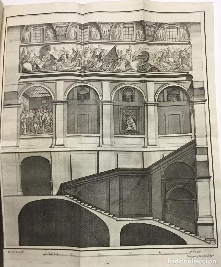 Libros antiguos: XIMÉNEZ, Andrés. DESCRIPCION DEL REAL MONASTERIO DE SAN LORENZO DEL ESCORIAL. 1764 - Foto 5 - 145613674