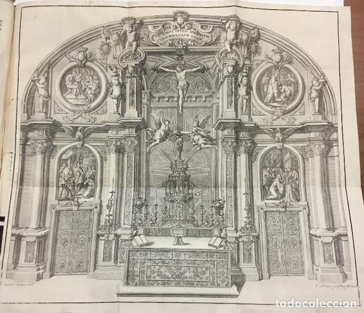 Libros antiguos: XIMÉNEZ, Andrés. DESCRIPCION DEL REAL MONASTERIO DE SAN LORENZO DEL ESCORIAL. 1764 - Foto 7 - 145613674