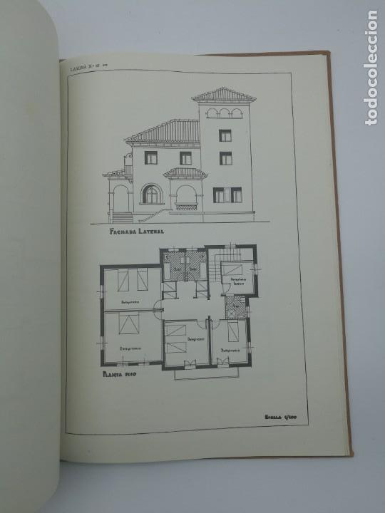 Libros antiguos: Planos modernos de villas y chalets 1959 - Foto 3 - 146387046