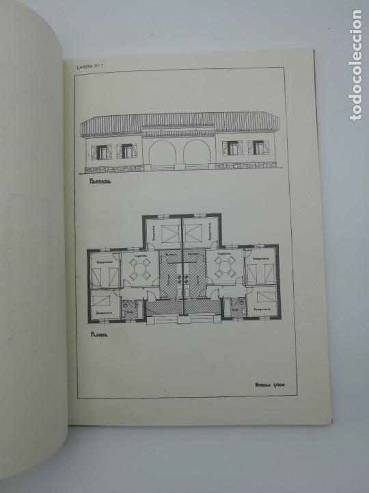 Libros antiguos: Planos modernos de villas y chalets 1959 - Foto 5 - 146387046