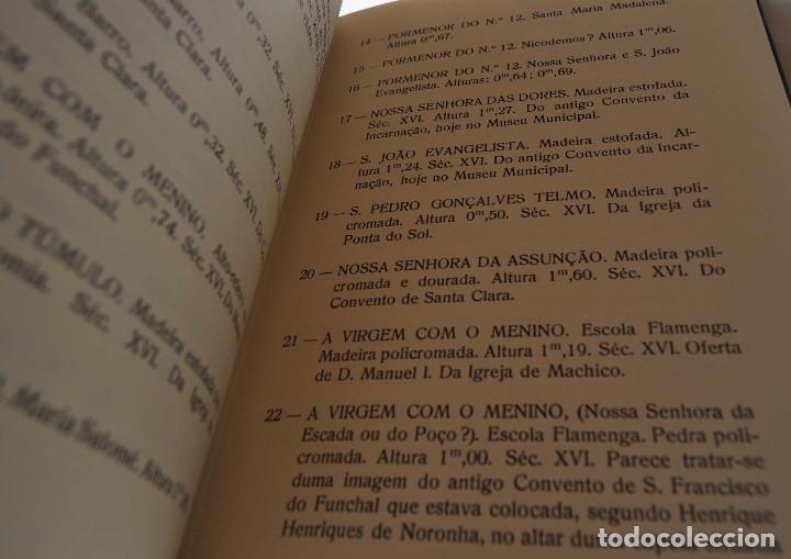 Libros antiguos: CATALOGO ESCULTURAS RELIGIOSAS NO CONVENTO DE SANTA CLARA DO FUNCHAL.ED. JUNTA GENERAL FUNCHAL - Foto 3 - 147214126
