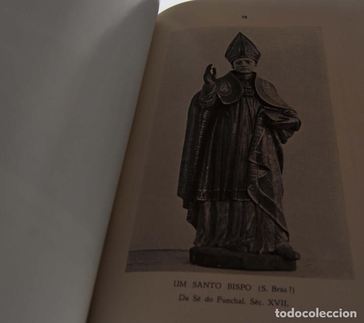 Libros antiguos: CATALOGO ESCULTURAS RELIGIOSAS NO CONVENTO DE SANTA CLARA DO FUNCHAL.ED. JUNTA GENERAL FUNCHAL - Foto 5 - 147214126