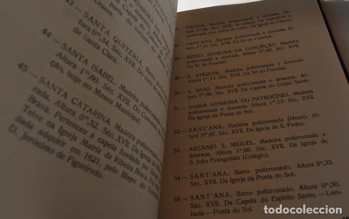 Libros antiguos: CATALOGO ESCULTURAS RELIGIOSAS NO CONVENTO DE SANTA CLARA DO FUNCHAL.ED. JUNTA GENERAL FUNCHAL - Foto 8 - 147214126