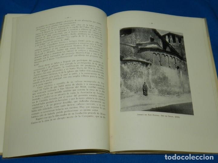 Libros antiguos: (M2.6) BUENAVENTURA BASSEGODA - GALERIA ARQUITECTOS ILUSTRES ELIAS ROGENT , BARCELONA 1929 - Foto 4 - 147441378