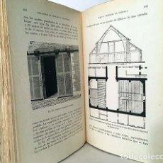 Libros antiguos: CONSTRUCCIONES RURALES. (DANGUY, 1923) CON 313 FIGURAS. ARQUITECTURA AGRÍCOLA. CUADRAS. ESTABLOS. Lote 147476454