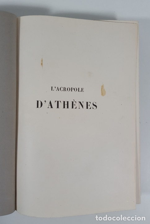 Libros antiguos: LACROPOLE D´ATHENES. M.BEULÉ. PARIS. 1862. - Foto 2 - 148193694