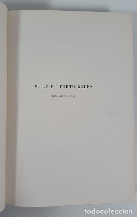 Libros antiguos: LACROPOLE D´ATHENES. M.BEULÉ. PARIS. 1862. - Foto 4 - 148193694