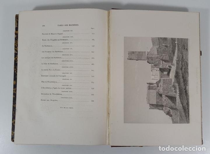 Libros antiguos: LACROPOLE D´ATHENES. M.BEULÉ. PARIS. 1862. - Foto 10 - 148193694