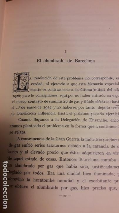 Libros antiguos: MEMORIA DE LA COMISIÓN ESPECIAL DE ENSANCHE / 1927 - Foto 7 - 27589410