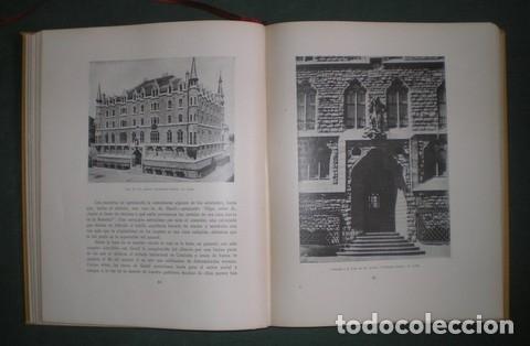 Libros antiguos: RAFOLS, JOSÉ F: ANTONIO GAUDI. 1929 Primera edición en español - Foto 3 - 113723719