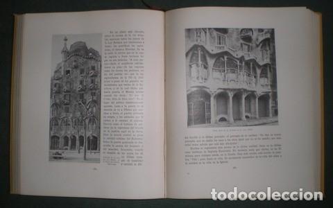 Libros antiguos: RAFOLS, JOSÉ F: ANTONIO GAUDI. 1929 Primera edición en español - Foto 2 - 113723719