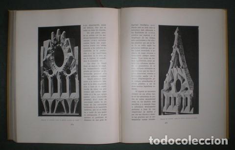 Libros antiguos: RAFOLS, JOSÉ F: ANTONIO GAUDI. 1929 Primera edición en español - Foto 8 - 113723719