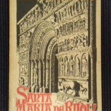 Libros antiguos: SANTA MARIA DE RIPOLL. CENTRE EXCURSIONISTA DE CATALUNYA.1923.. Lote 149612842