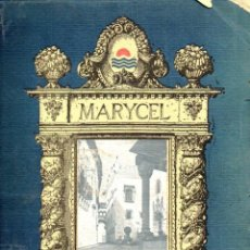 Libros antiguos: MARYCEL - SITGES (REVISTA DE ARQUITECTURA, 1918). Lote 150125950