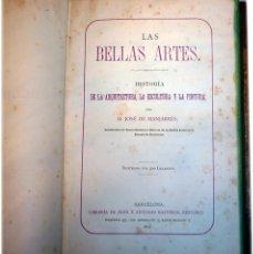 Libros antiguos: HISTORIA ARQUITECTURA, ESCULTURA Y LA PINTURA. Lote 150290074