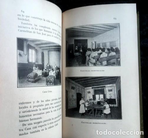 Libros antiguos: GAUDI - COLONIA GÜELL FABRICA DE PANAS Y VELUDILLOS DE GÜELL Y Cia - 1910 RARO - ILUSTRADO - PLANOS - Foto 2 - 150944466