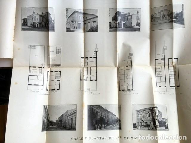 Libros antiguos: GAUDI - COLONIA GÜELL FABRICA DE PANAS Y VELUDILLOS DE GÜELL Y Cia - 1910 RARO - ILUSTRADO - PLANOS - Foto 3 - 150944466