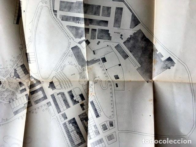 Libros antiguos: GAUDI - COLONIA GÜELL FABRICA DE PANAS Y VELUDILLOS DE GÜELL Y Cia - 1910 RARO - ILUSTRADO - PLANOS - Foto 4 - 150944466