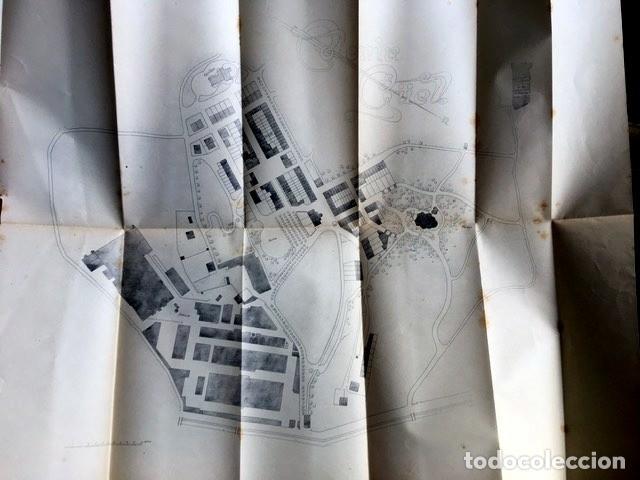 Libros antiguos: GAUDI - COLONIA GÜELL FABRICA DE PANAS Y VELUDILLOS DE GÜELL Y Cia - 1910 RARO - ILUSTRADO - PLANOS - Foto 5 - 150944466