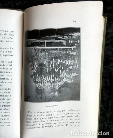 Libros antiguos: GAUDI - COLONIA GÜELL FABRICA DE PANAS Y VELUDILLOS DE GÜELL Y Cia - 1910 RARO - ILUSTRADO - PLANOS - Foto 11 - 150944466
