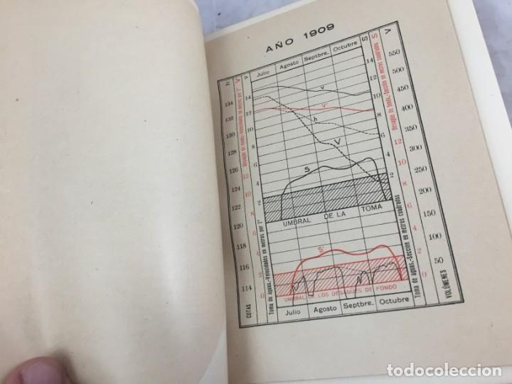 Libros antiguos: El pantano del Ebro. Estudio técnico de sus obras hidráulicas Pardo, M. Lorenzo 1919 planos desplega - Foto 5 - 151358122