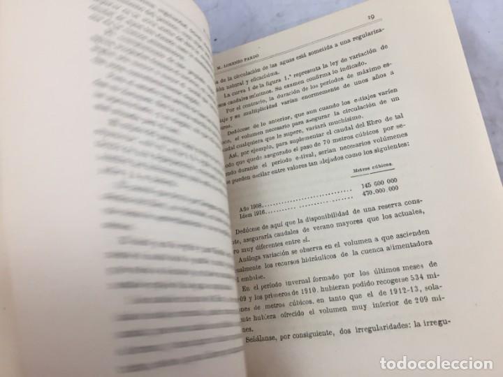 Libros antiguos: El pantano del Ebro. Estudio técnico de sus obras hidráulicas Pardo, M. Lorenzo 1919 planos desplega - Foto 7 - 151358122
