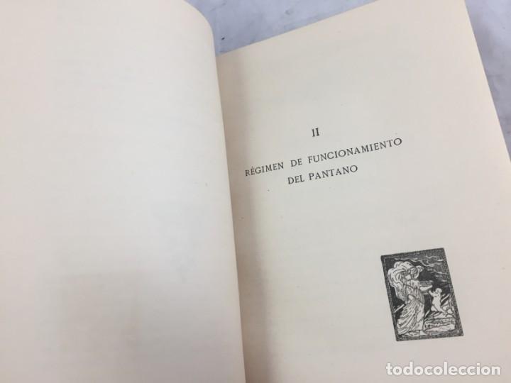 Libros antiguos: El pantano del Ebro. Estudio técnico de sus obras hidráulicas Pardo, M. Lorenzo 1919 planos desplega - Foto 8 - 151358122