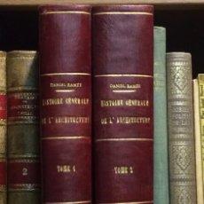 Libros antiguos: AÑO 1860-1862 - RAMÉE, DANIEL. HISTOIRE GÉNÉRALE DE L'ARCHITECTURE - HISTORIA ARQUITECTURA. Lote 152134762