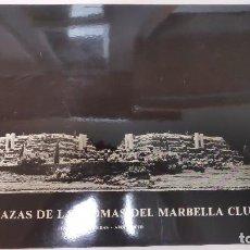 Libros antiguos: PROYECTO DE ARQUITECTURA FERNANDO HIGUERAS. LAS TERRAZAS DE LAS LOMAS DEL MARBELLA CLUB. PLANOS . Lote 152252806