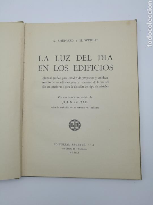 Libros antiguos: La luz del día en los edificios 1951 - Foto 2 - 152472388