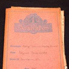 Libros antiguos: COLEGIO NOVICIADO EN ELIZONDO (NAVARRA) - 1925 - PROYECTO ARQUITECTÓNICO - JAUME BAYÓ. Lote 153221738