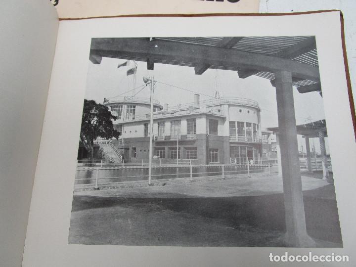 Libros antiguos: DE MUSEO! ARQUITECTURA VALENCIA DE JAVIER GOERLICH LLÉO CASA BALANZA, FRONTON CLUB NAUTICO - Foto 5 - 153295446