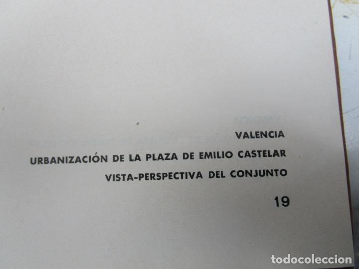Libros antiguos: DE MUSEO! ARQUITECTURA VALENCIA DE JAVIER GOERLICH LLÉO CASA BALANZA, FRONTON CLUB NAUTICO - Foto 7 - 153295446