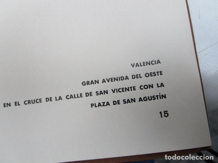 Libros antiguos: DE MUSEO! ARQUITECTURA VALENCIA DE JAVIER GOERLICH LLÉO CASA BALANZA, FRONTON CLUB NAUTICO - Foto 9 - 153295446