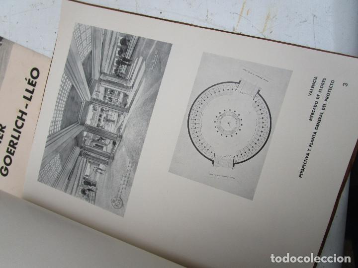Libros antiguos: DE MUSEO! ARQUITECTURA VALENCIA DE JAVIER GOERLICH LLÉO CASA BALANZA, FRONTON CLUB NAUTICO - Foto 12 - 153295446