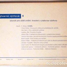 Libros antiguos: VYTVARNÁ VYCHOVA. 4 - PRAHA 1935 - LIBRO EN CHECO. Lote 154257797